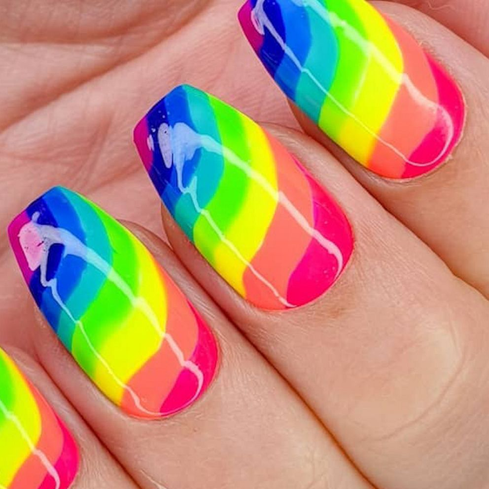 these pride nails are