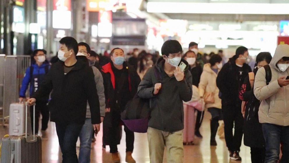 China reports nearly 15,000 new cases of coronavirus Video - ABC News