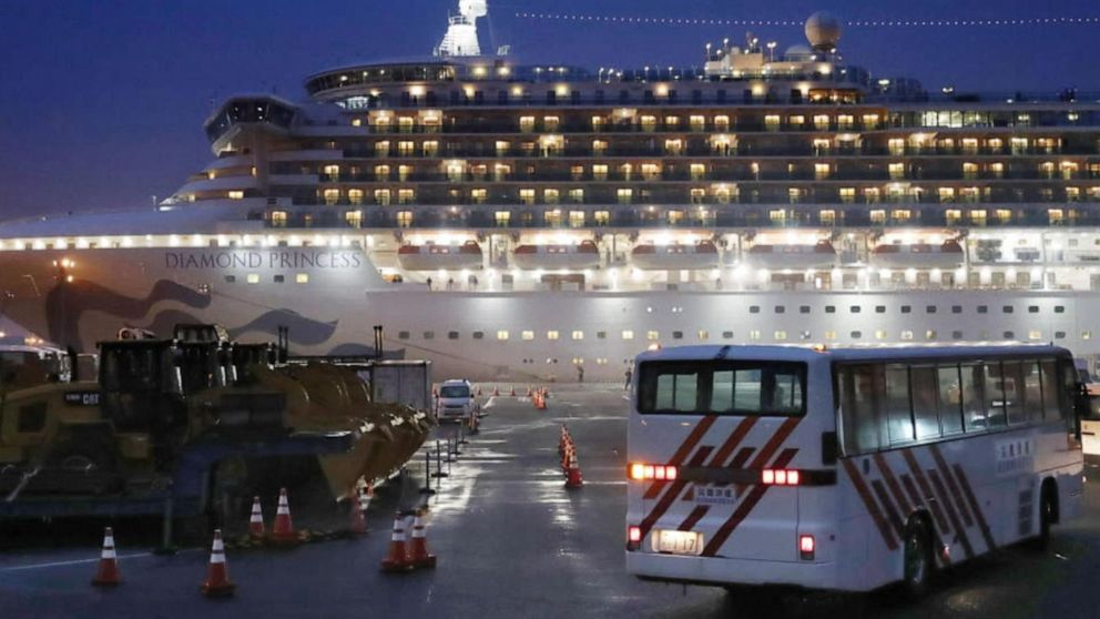 Coronavirus death reported in Taiwan, US cruise passengers ...