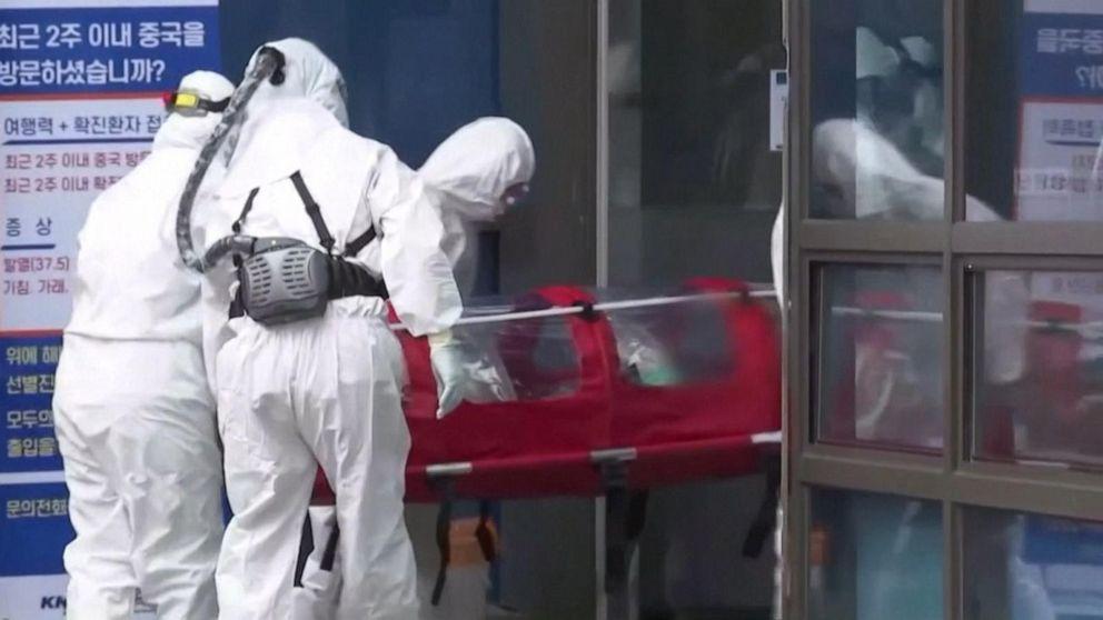 Coronavirus deaths in China top 2,500 as South Korea raises alert ...