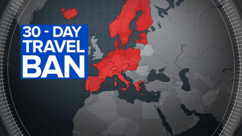Trump announces travel from Europe to be restricted amid ...