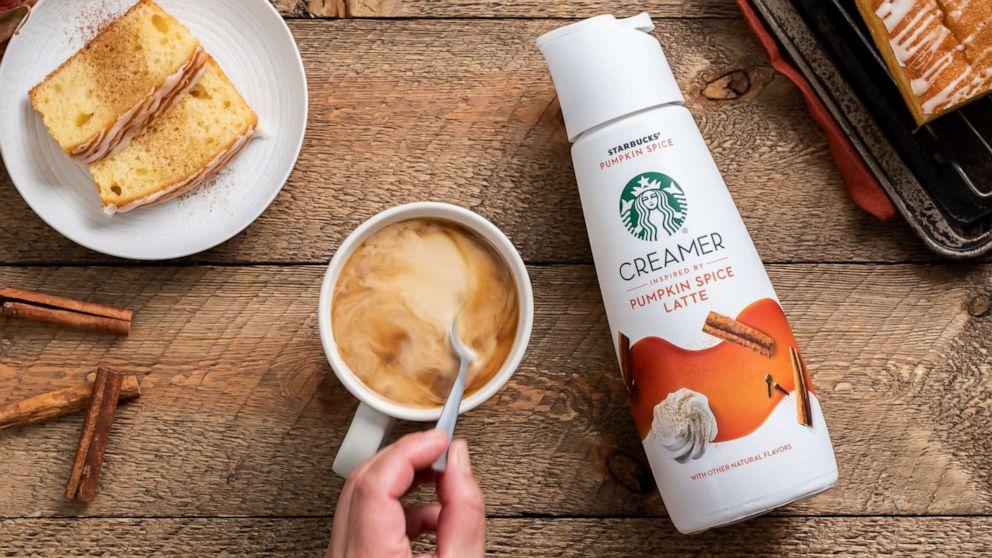 starbucks pumpkin spice lattes