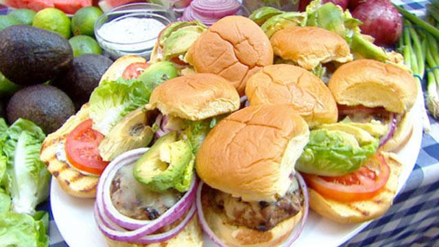 Burger Tuna Rachael Ray