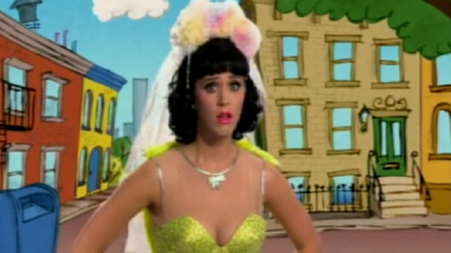 katy perry cut from