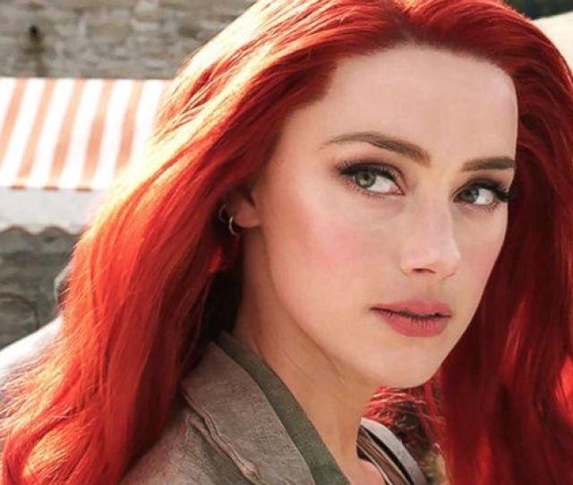 Photo Amber Heard Appears In Aquaman