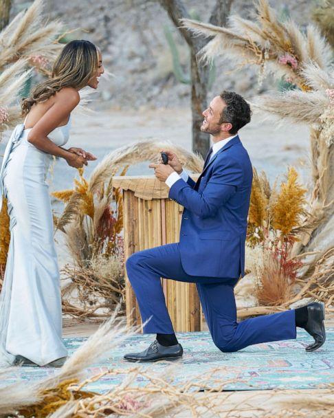 Bachelorette' couple Tayshia Adams, Zac Clark on moment they knew it was  love | GMA