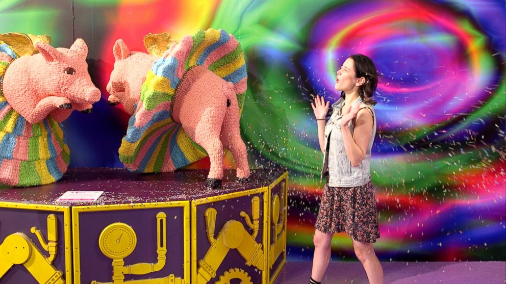 Get sugar high at Candytopia A reallife Candyland