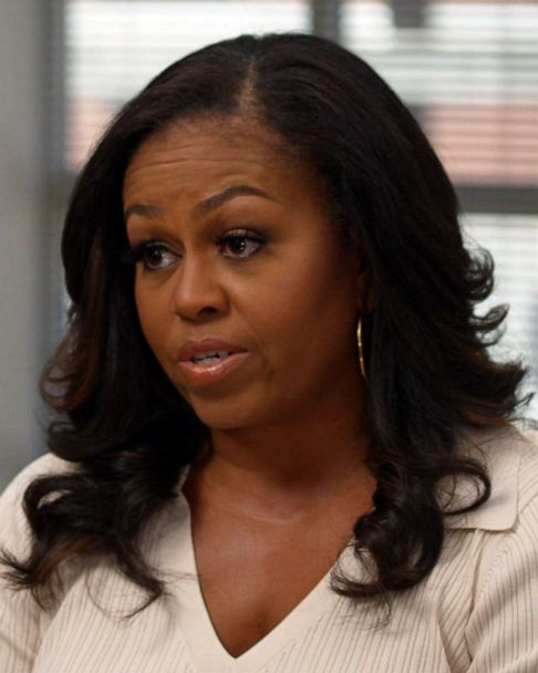 Michelle Obama Eyebrows : michelle, obama, eyebrows, Michelle, Obama, Speaks, About, Biden, Inauguration,, Kids', Edition, 'Becoming'