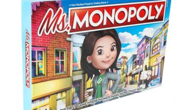 Ms. Monopoly is a new board game celebrating female ...