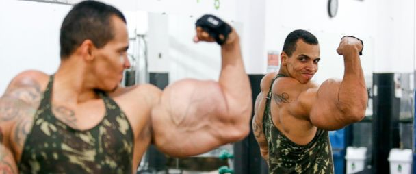 brazilian bodybuilder claims synthetic