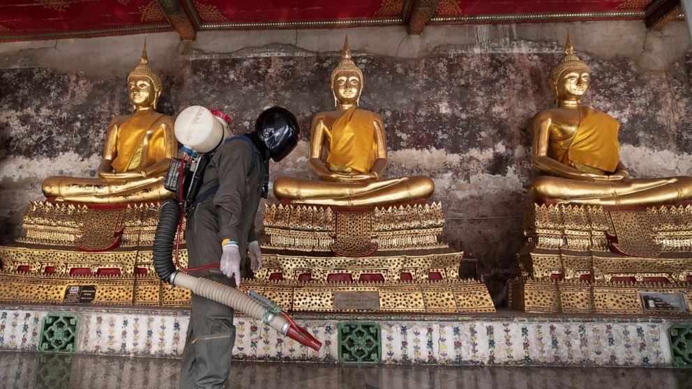 Thailand enacts shutdowns to curb spread of coronavirus - ABC News
