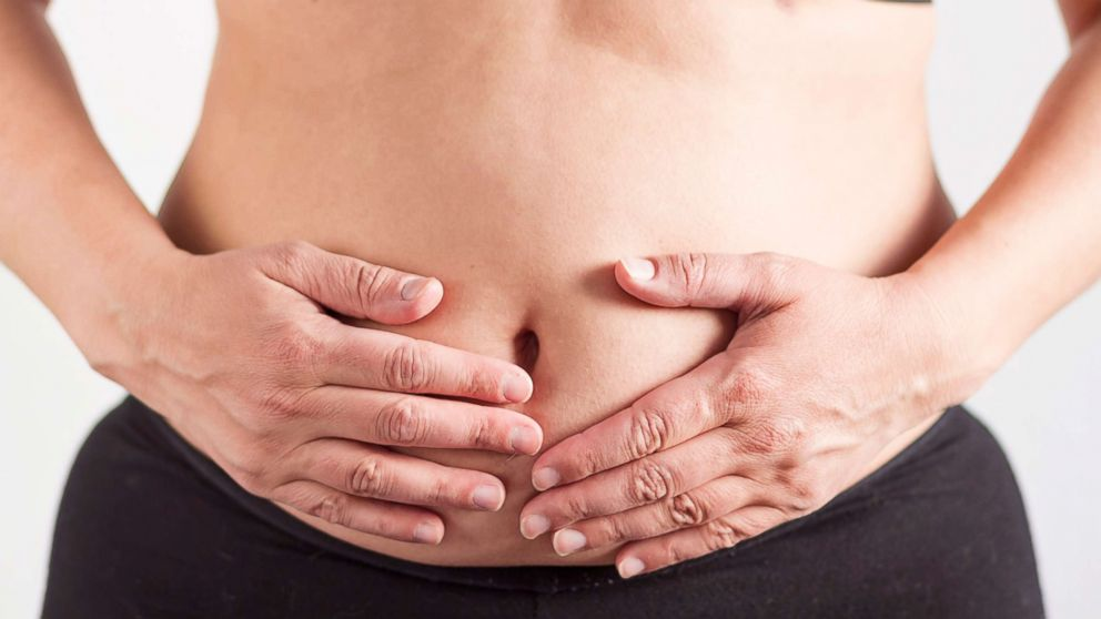 stomach bloat as too much salt