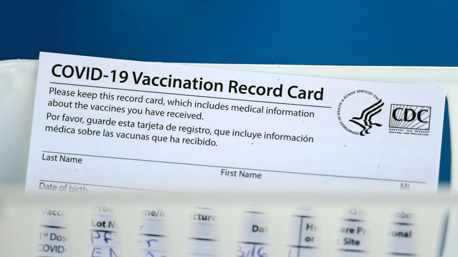While running up credit card debt you can't immediately pay off is generally not a good idea, you may simply need a new ca. Hang On To That Covid 19 Vaccination Card It S Important Abc News