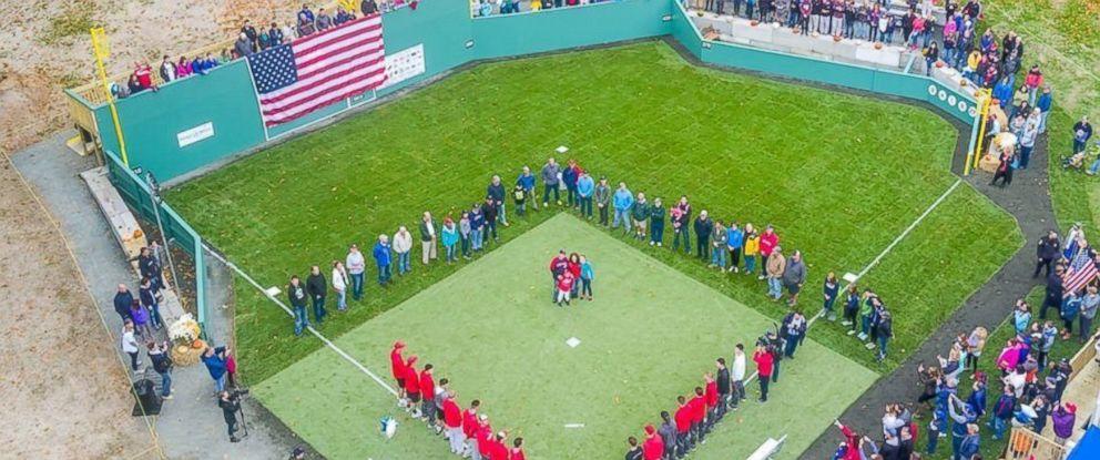 How Make Baseball Field Your Backyard