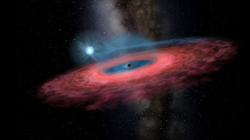 Massive black hole that 'should not even exist' has been discovered - ABC  News