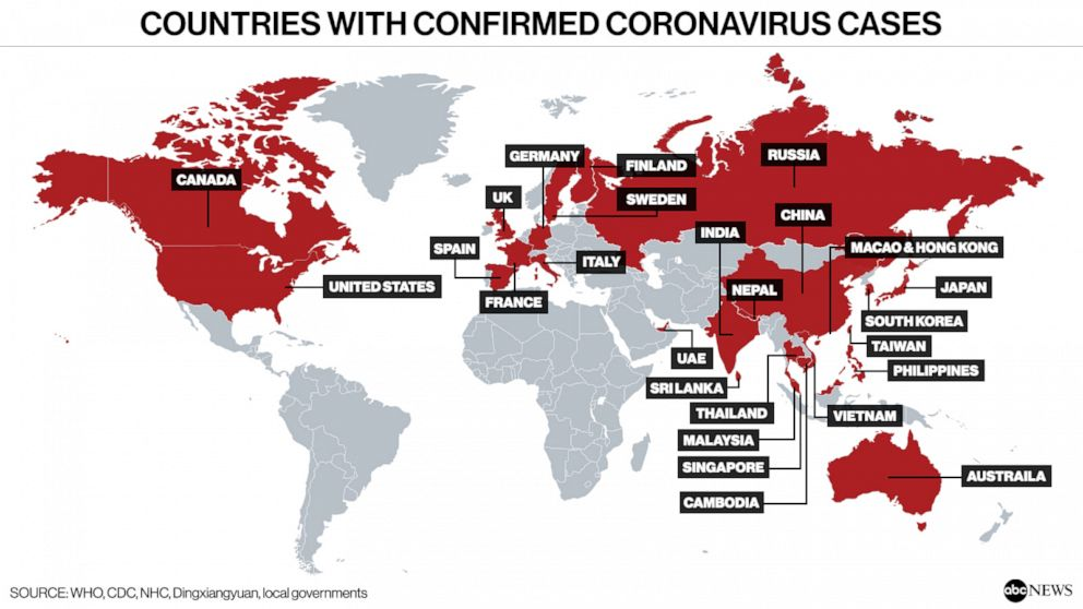 Here are the coronavirus symptoms to watch out for amid outbreak ...
