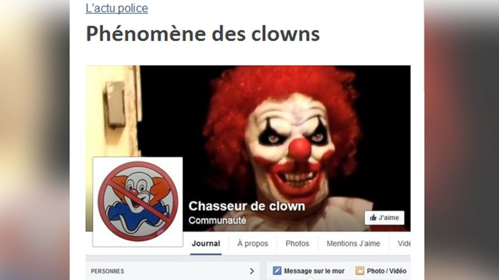 scary clowns with guns