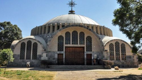 """FILE - In this Monday, Nov. 4, 2013 file photo, the Church of St. Mary of Zion in Axum, in the Tigray region of Ethiopia. A new Amnesty International report issued Friday, Feb. 26, 2021 says soldiers from Eritrea systematically killed """"many hundreds"""""""