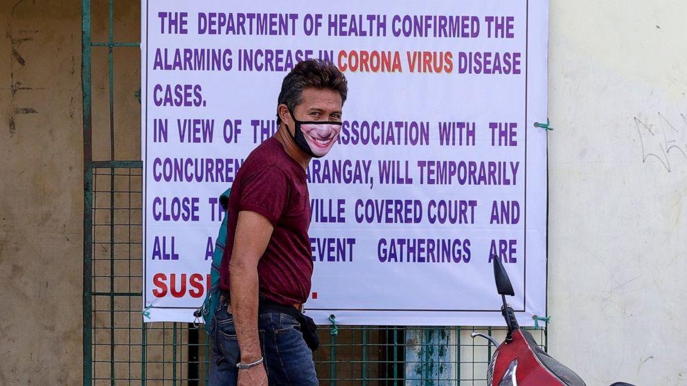 Philippines declares curfew in Manila to fight coronavirus - ABC News