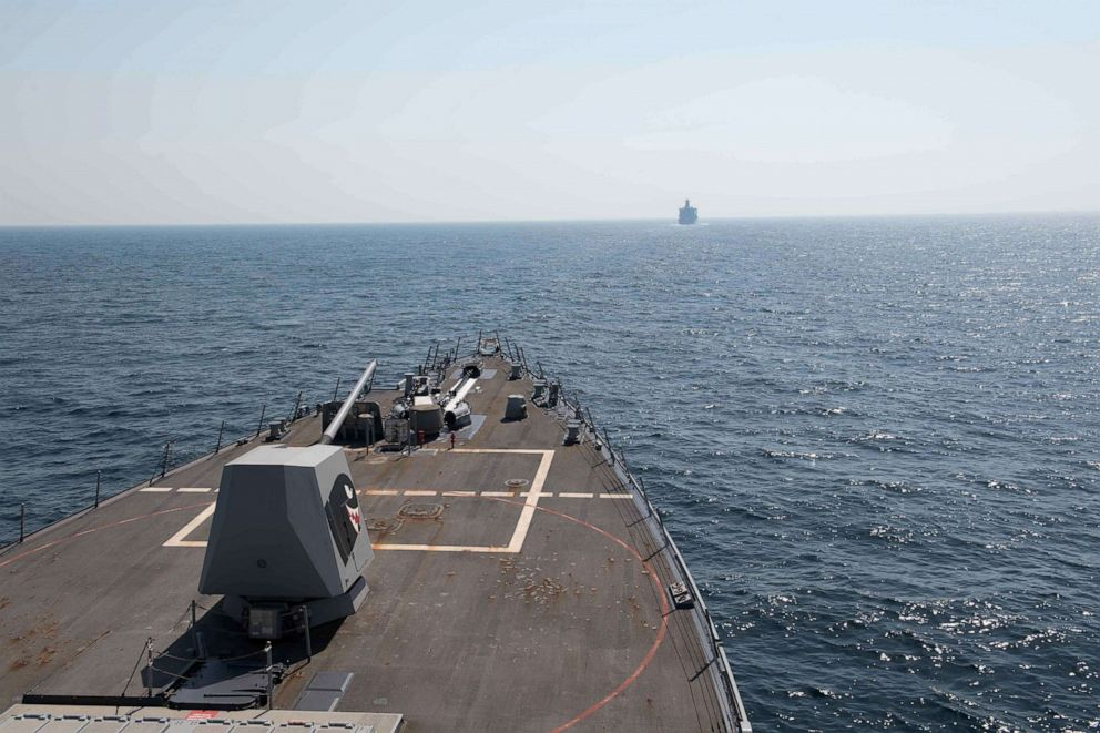 us navy destroyers sail