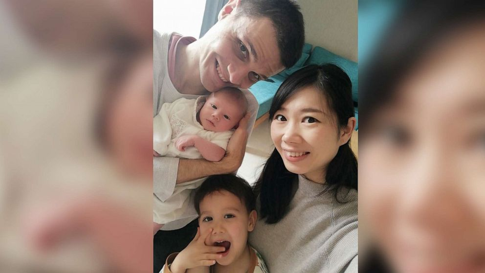 How one couple welcomed a baby girl during the novel coronavirus ...
