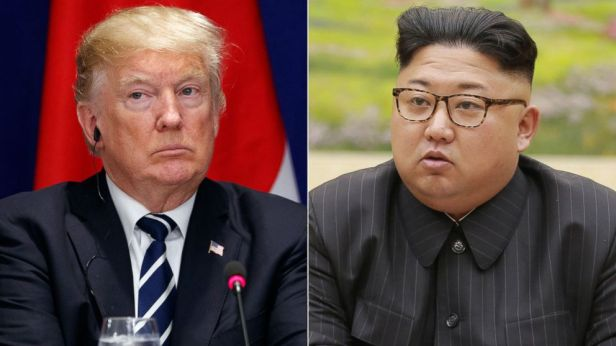 Image result for images of trump and kim jong un