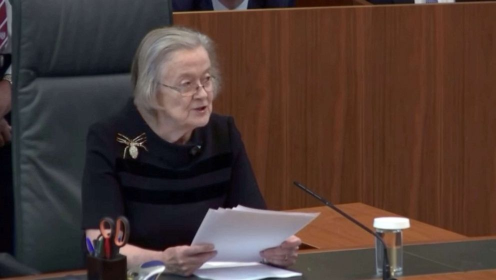 Who is Lady Hale? The judge just delivered a new Brexit blow to Boris Johnson - ABC News
