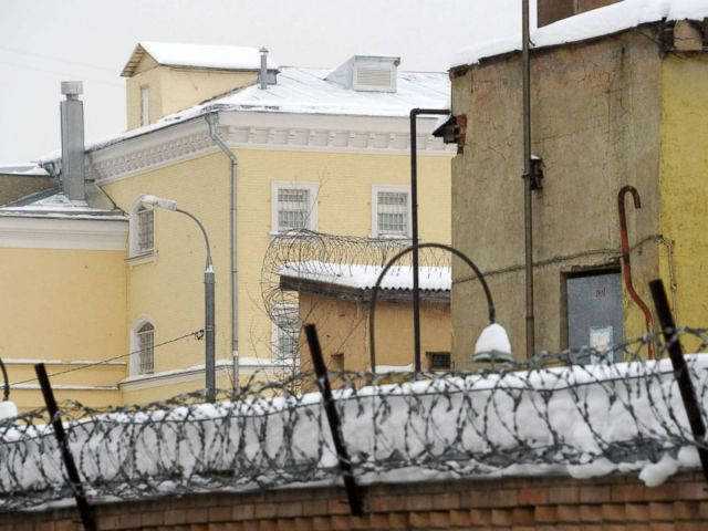 PHOTO: The Lefortovo prison in Moscow, Jan. 8, 2019.