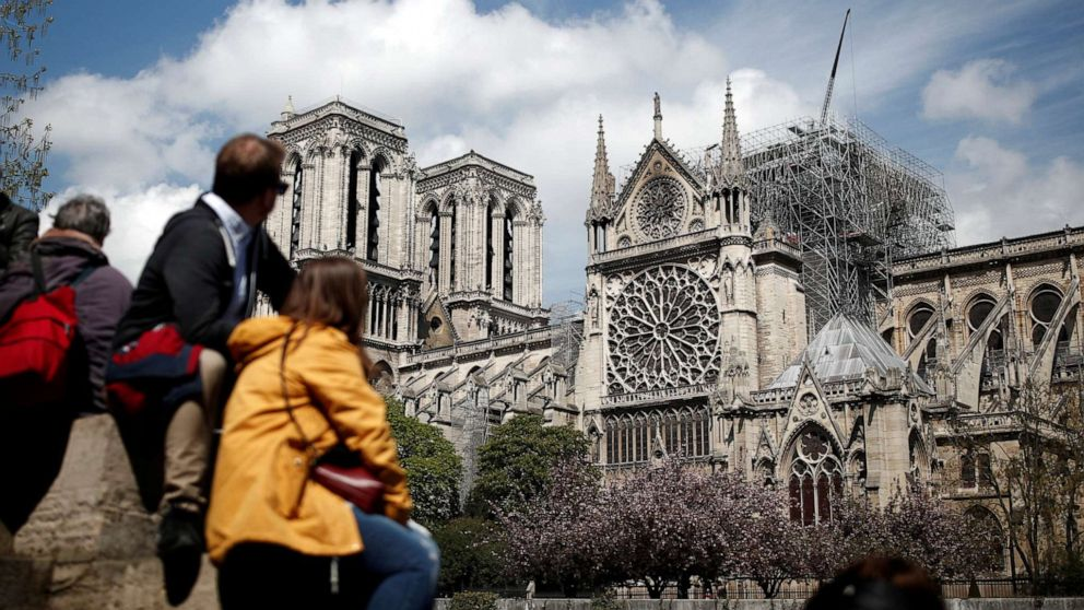 Competition To Rebuild Notre Dames Iconic Spire