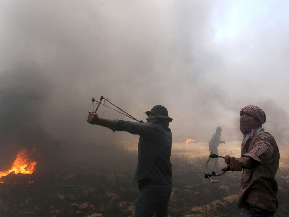 Why Palestinians throw stones A reporters notebook  ABC News