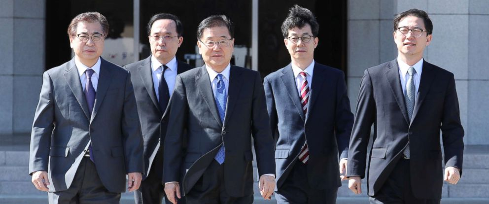 South Korea Envoys To Visit The North In Hopes Of