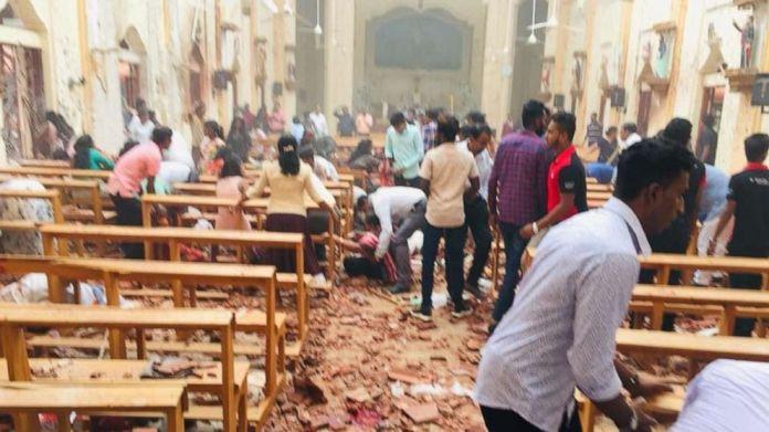 On April 21, 2019, an explosion shook the St. Sebastian Church in Negombo, Sri Lanka.