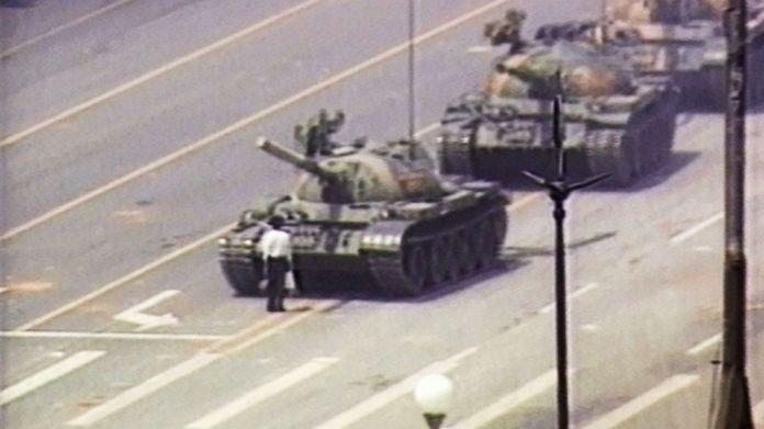 Image result for tank man