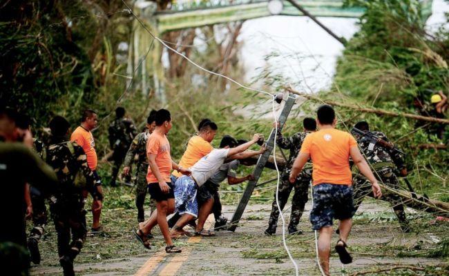 2018 World S Strongest Storm Typhoon Mangkhut Barrels
