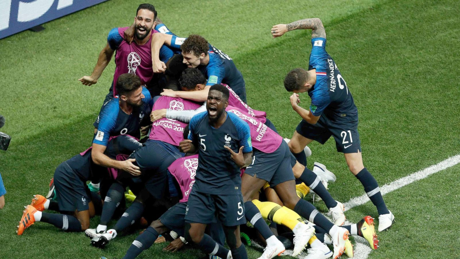 And it would call into question the future of deschamps, whose renewed contract runs now until 2020. Diverse French Team Brings Home World Cup Championship Abc News