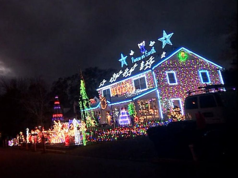 House Decorating Christmas Lights