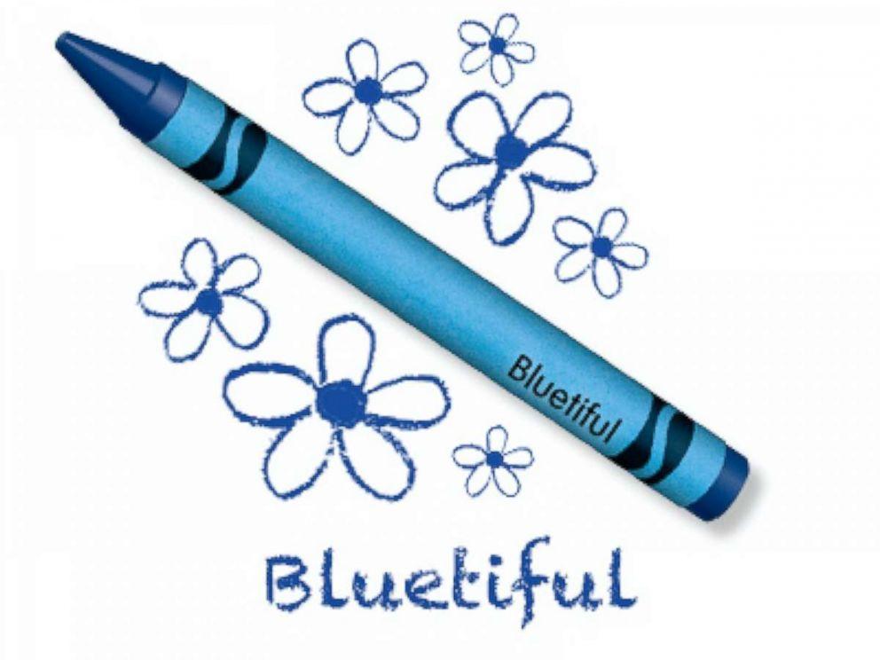 crayola names new blue