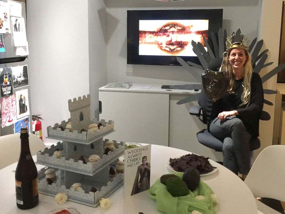 game of thrones office chair cheap outdoor cushions throws themed wedding shower for co worker abc news