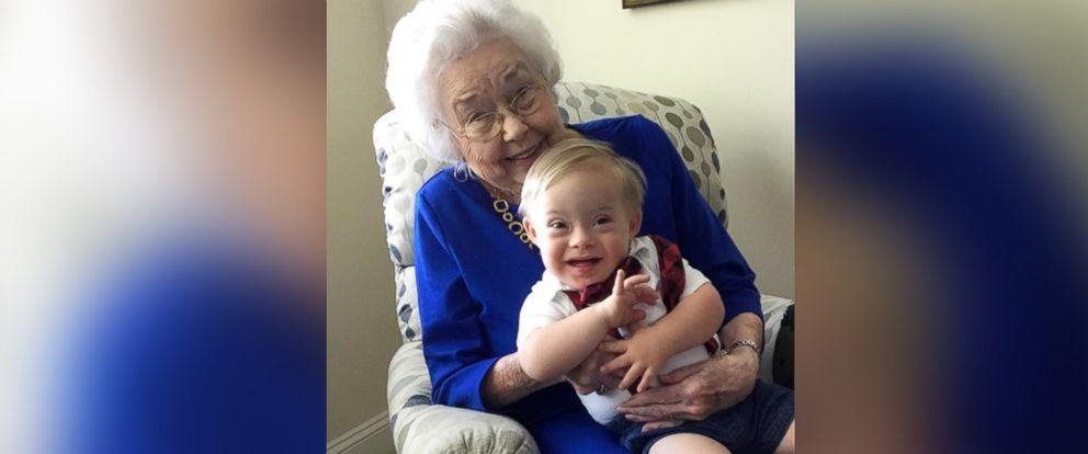 The first Gerber baby, now 91, met the current Gerber baby