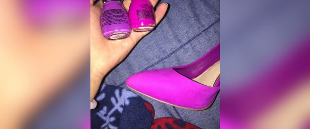 pink or purple theshoe