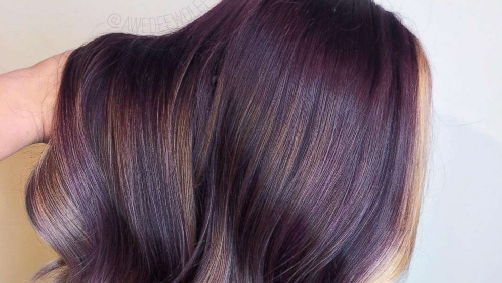 The Peanut Butter And Jelly Hair Trend Is Actually