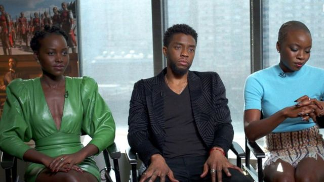 VIDEO: Black Panther stars Chadwick Boseman, Lupita Nyongo on the films pre-sale success