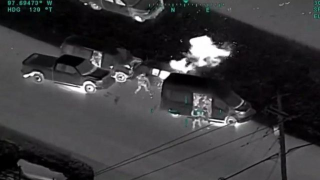 VIDEO: The moment one of the most prolific bombers in US history was taken down: Part 2