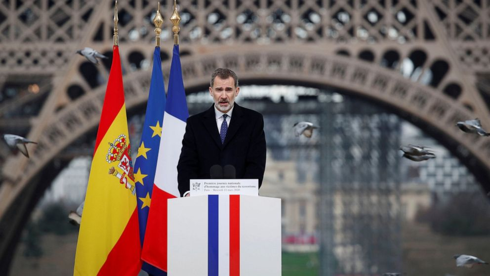 White House postpones Spain state visit, cites coronavirus - ABC News