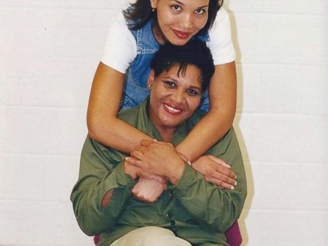PHOTO: Tretessa Johnson poses with her mother, Alice Marie Johnson, who has been in prison for 21 years, in an undated handout photo.
