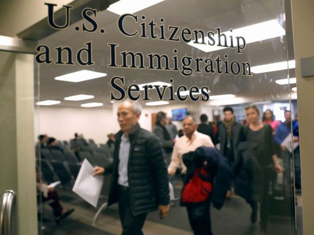 PHOTO: Immigrants prepare to become American citizens at a naturalization service, Jan. 22, 2018, in Newark, New Jersey.