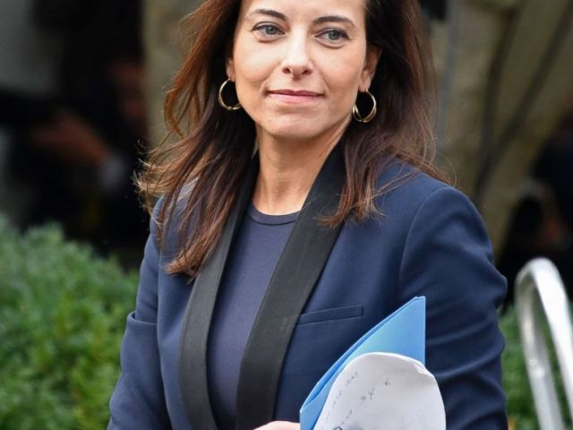 PHOTO: Deputy National Security Adviser for Strategy Dina Powell arrives prior to President Donald Trump and Singapores Prime Minister Lee Hsien Loong making joint statements in the Rose Garden of the White House in Washington, D.C., Oct. 23, 2017.