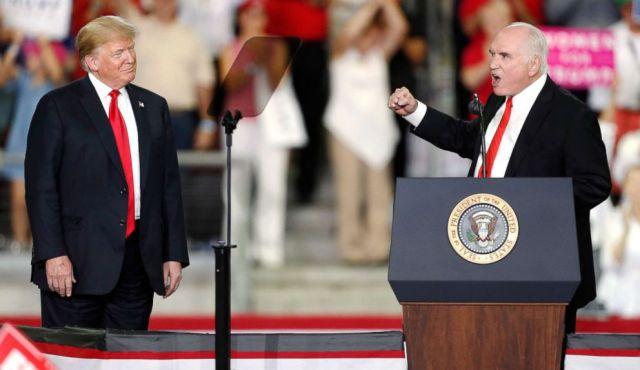 Trump stumps for Republicans in Pennsylvania as Hurricane Michael slams  Gulf Coast - ABC News