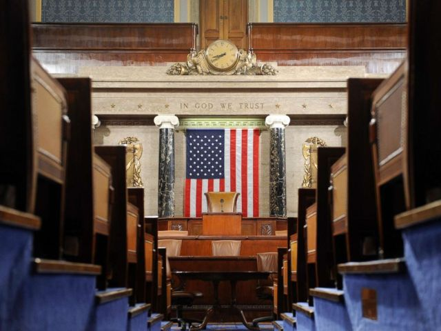 PHOTO: The House Chamber on Capitol Hill in Washington, D.C., Dec. 8, 2008.