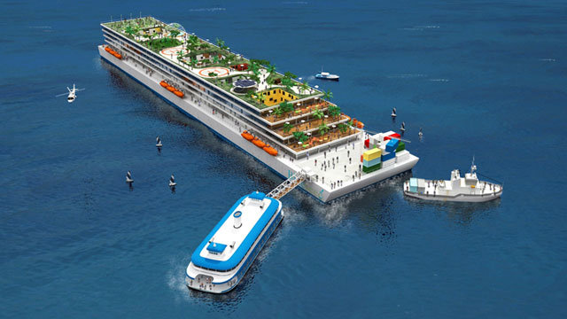 Startup Aims To Skirt Visa Limits With Cruise Ship For Foreign High Tech Workers